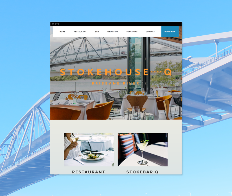 Stokehouse Q Brisbane web development